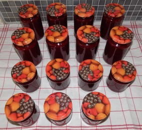 Kornelkirschen/Brombeer Marmelade