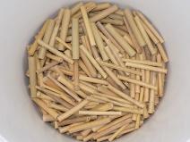 geschnittene Bambus-Nistülsen Rohlinge