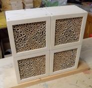 fertige Wildbienen/Insekten Nistblöcke